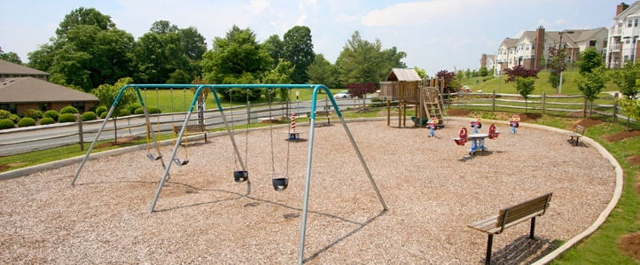 Charlottesville Apartment Community Playground
