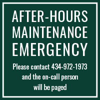 Carriage Hill Emergency: 434-972-1973