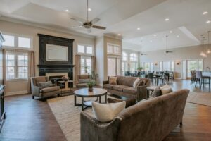 The Clubhouse at Carriage Hill Apartments in Charlottesville, VA