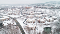Winter at Carriage Hill Apartments in Charlottesville VA