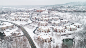 Carriage Hill in Winter