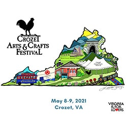Crozet Spring Arts and Crafts Festival 2021