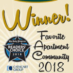Carriage Hill Winner of Readers' Choice 2018 Award (2nd place)