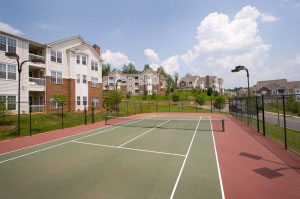 Tennis Courts at Carriage Hill