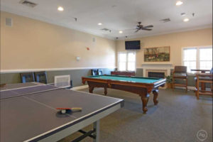 Clubhouse at Carriage Hill Apartments