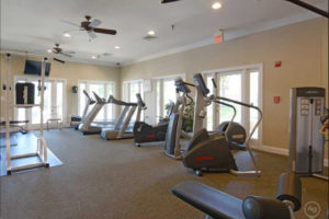 Fitness Room at Carriage Hill Apartments