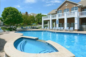 The Carriage Hill Clubhouse Pool