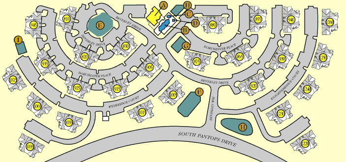 Charlottesville Apartment Site Map